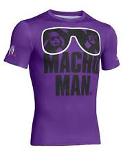 Under Armour WWE Randy Macho Man Savage Alter Ego Compression Shirt MEDIUM M