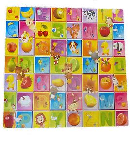 Large Kids Baby Floor Play Mats Complete 4pcs Soft EVA Foam Jigsaw Puzzle