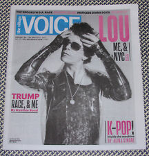 Lou Reed by Mick Rock Nyc Village Voice Velvet Underground
