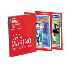 2016 Topps Dan Marino Cardboard Icons 5x7 Red Edition Set 01/10 MINT