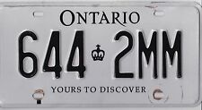 🏁 🏁 🌟🌟🌟  AUTHENTIC CANADA 2010's ONTARIO  LICENSE PLATE. 🌟🌟🌟