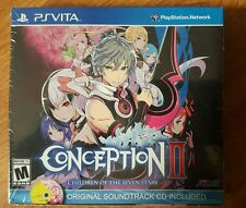 Conception II: Children of the Seven Stars (PS Vita) New Sealed Limited Edition