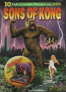 NEW & SEALED - 10  MOVIES - DVD SET - RARE - SONS OF KONG - FREE POST AUST ONLY