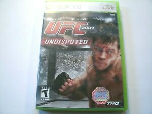 UFC 2009 Undisputed - Xbox 360 Game - Complete
