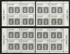 CANADA #753 12¢ Capex 12d Queen Victoria Matched Set Plate Blocks MNH