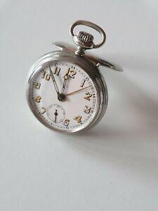 Taschenuhr alt pocket Watch JUNGHANS mit Wecker