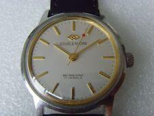 Vintage DOUBLE RHOMB 17J Mechanical Manual Watch