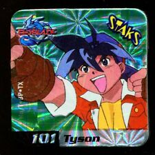 STAKS STAKS AIMANT MAGNET BEYBLADE N° 101 TYSON HOLO
