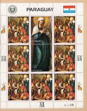 Paraguay Pintura Religiosa de Durero Navidad (DO-734)