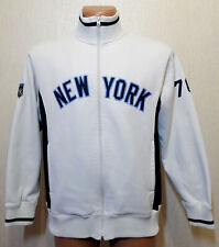 MENS NEW YORK YANKEES JACKET TRAINING BASEBALL GENIUNE MERCHANDISE HOODIE SIZE S