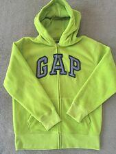 Gapkids Boys Green Fleece Hoodie Sz 12 NWT