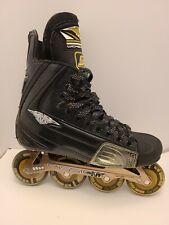 Mission Wicked Light Roller Hockey Skates- RARE Rink Rat Hornet 80 - 76 EUC 8.5D