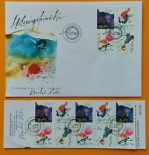 Sweden 1993 Greetings Scott 2024-2027 FDC + booklet signed by Andre Prah