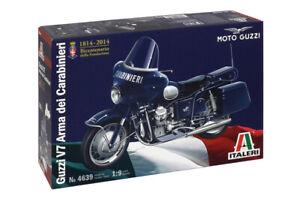 Italeri #4639 1/9 Moto GUZZI V7 Arma Dei Carabineri