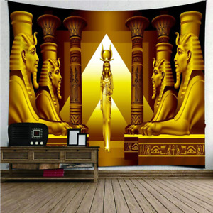 Egyptian Pyramid Sphinx Tapestry Wall-Mounted Decoration Home Living Room Bedroo