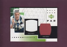 Jesper Parnevik 2003 Upper Deck Golf Golf Gear Par (MINT) #GP-JP