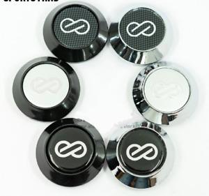 4pcs 68mm Auto Car Wheel Center Hub Caps for ENKEI Emblem Logo Auto for Audi