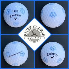 (1) Callaway Chrome Soft Truvis Golf Ball - River Course at the Alisal - Usa