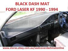 DASH MAT, DASHMAT, BLACK DASHBOARD COVER FIT FORD LASER 1990-1994 BLACK