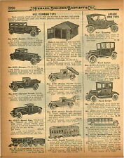 1926 PAPER AD Hill Climbing Climber Toys Locomotive Train Tow Truck Arcade Ford