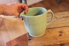 Vintage Large Wood's Beryl Ware Custard / Milk Jug – Great! –