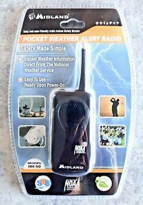 Midland NOAA Pocket Weather Alert emergency Pocket Radio Model HH-50 NEW