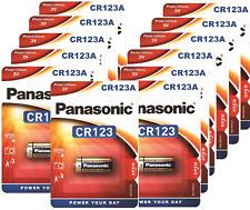 12 X PANASONIC CR123 CR123A 123 3V PHOTO BATTERY