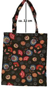 Einkaufsbeutel Fantasia Flower stilisierte Blumen Gobelin Shopper Einkaufstasche