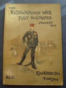 MILITARIA-GUERRA-THE RUSSO-JAPANESE WAR-FULLY ILLUSTRATED-N.6-TOKYO 1905-RARO