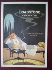 POSTCARD  LOADSTONE CIGARETTES - FRANKLIN DAVEY & CO BRISTOL
