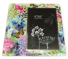 Butterfly & Flowers Photo Frame 18.5 CM