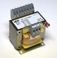 Trafo prim.  230V/400 Volt  auf sek. 48 Volt , 2 x 7 Volt, 12 Volt   77,6   VA