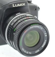 MICRO 4/3 fit 28mm (50mm) PRIME PORTRAIT LENS PANASONIC LUMIX - OLYMPUS PEN