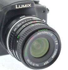 Ajuste Micro 4/3 28 mm (50 MM) primer Lente de retrato PANASONIC LUMIX-OLYMPUS PEN