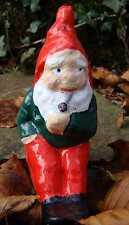 Garden Gnome ~  Spike ~ Handmade by Pixieland (Concrete)