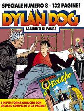 """Dylan Dog - Speciale #08 """"Labirinti di Paura"""" Chiaverotti Roi con albetto NUOVO"""