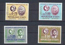 Centenaire Du Timbre Haitien 1881-1981 Republique D'Haiti kompl. Satz postfrisch