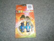 Blue LED Magic Luminescent Shoelaces, NEW, Stocking Filler gift