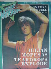 RECORD MIRROR 12/9/81 - TEARDROP EXPLODES - SOFT CELL - JOHN FOXX
