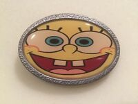 Sponge Bob Square Pants Cartoon Character Belt Buckle