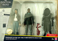 Dr Who Friends & Foes of the 13th Doctor Limited Edition Collector Figure Set