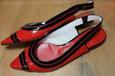 pretty Ballerinas von UTA RAASCH Gr 41 perforierte Leder -EUR130,00 Neuw