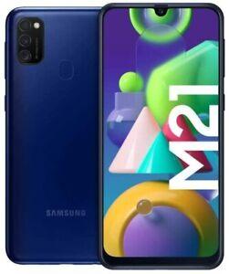 Samsung Galaxy M21 blau 64GB Dual Sim Android Smartphone ohne Simlock Handy