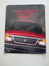 1996 US Ford Mercury Mountaineer brochure