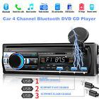 Universal Bluetooth Car DVD CD MP3 Player Card FM Radio Sstereo Remote Control