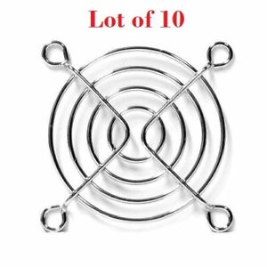 Lot of 10  Evercool 60mm Metal Wire Grill Finger Guard FG-60