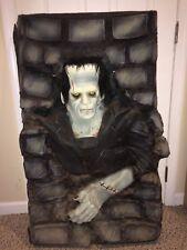 Vintage 90s Large Frankenstein Monster Life Size Wall Crasher,Universal Monsters