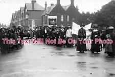 SX 300 - Suffragette Parade, Littlehampton, Sussex July 1913 - 6x4 Photo