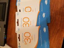 AT&T $30 ATT Refill Card TOP up PIN Prepaid Refill