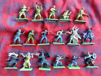 BRITAINS Deetail 1971 - lot de 17 figurines (japonais, turcs, nordistes...).